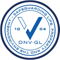 Narrowtex DNV.GL certification badge