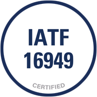 Narrowtex IATF 16949 Certified Seatbelt webbing strap badge