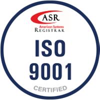 Narrowtex ISO9001 certified bacge