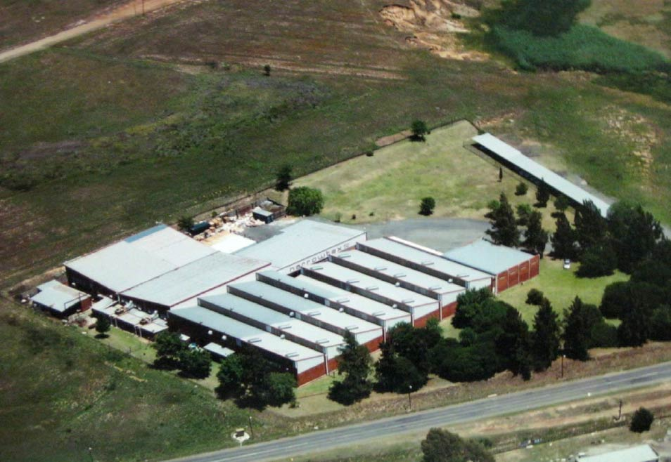 Narrowtex production facility in Estcourt