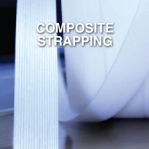 Narrowtex AAR certified composite or cord strapping