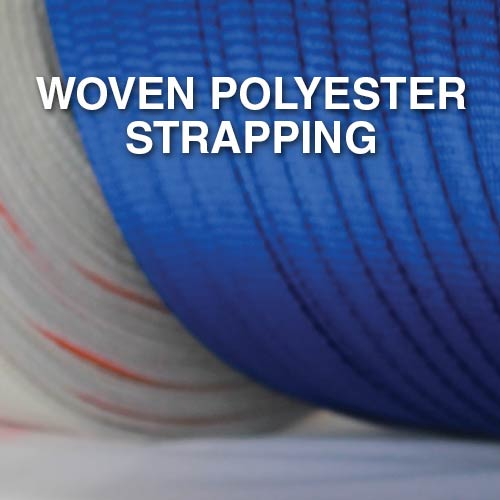 Narrowtex woven polyester strapping