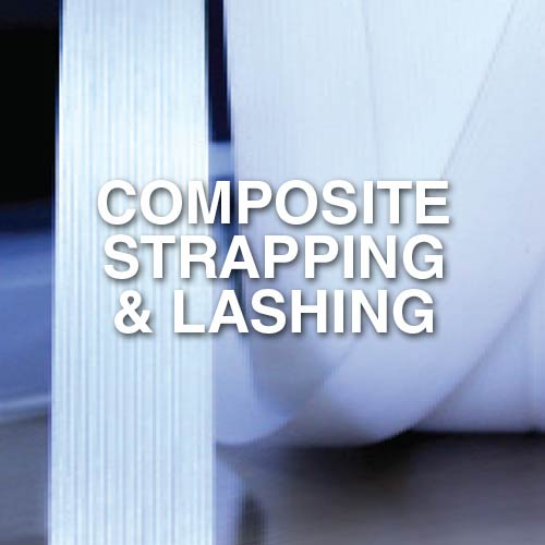 Narrowtex AAR standard composite or cord strapping and lashing